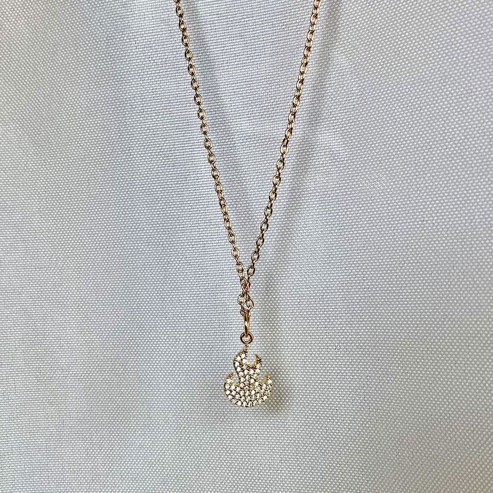 Flame Necklace